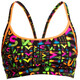Funkita Sports Top Bikini Damer farverig